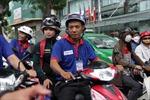 Xe ôm miễn phí tiếp sức mùa thi tại Nghệ An