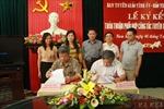 Phối hợp tuyên truyền giữa báo Tin tức và Ban tuyên giáo tỉnh Nam Định