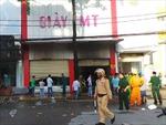 Cháy cửa hàng giày dép, 3 người tử vong