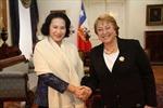 Phó Chủ tịch Quốc hội Nguyễn Thị Kim Ngân thăm Chile