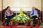 Lãnh đạo TP.HCM tiếp Đoàn Tổng Thanh tra Chính phủ Lào