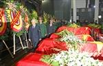 Tổ chức trọng thể Lễ tang các sỹ quan, quân nhân hy sinh trong khi huấn luyện bay