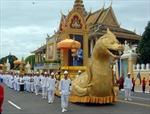 Nghi lễ rước tro cốt cựu Vương Norodom Sihanouk
