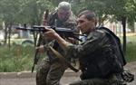 Dân quân Lugansk lần đầu không kích quân đội Ukraine
