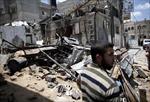 Dải Gaza chìm trong khói lửa