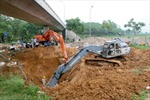 Vinaconex sẽ kiểm soát sự cố vỡ đường ống nước Sông Đà
