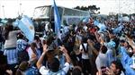 Bại trận, tuyển Argentina vẫn được chào đón nồng nhiệt tại quê nhà