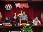Đồng chí Tô Huy Rứa làm việc với lãnh đạo tỉnh Đắk Nông