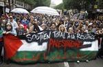 Người Pháp rầm rộ biểu tình phản đối Israel
