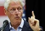 Cựu Tổng thống Bill Clinton chỉ trích Trung Quốc về chính sách Biển Đông