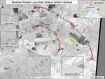 Mỹ công bố hình ảnh 'Nga bắn rocket vào Ukraine'