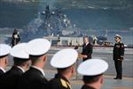 Nga kỉ niệm 'Ngày Hải quân' trong năm được mùa tàu chiến