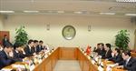 Phó Thủ tướng Phạm Bình Minh hội đàm với Ngoại trưởng Hàn Quốc