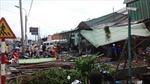 Cần Thơ: Lốc xoáy cuốn sập, tốc mái hơn 100 nhà