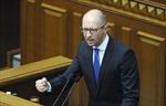 Quốc hội Ukraine bác đơn từ chức của Thủ tướng