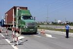 Tăng cường xử lý phương tiện chở quá tải trên đường cao tốc