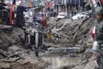Hiện trường vụ nổ ga kinh hoàng tại Đài Loan