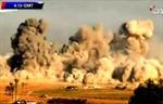 Israel phá hủy thị trấn Gaza trong không đầy 1 giờ