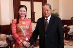 Hội Chữ thập đỏ Việt Nam và Lào tăng cường hợp tác