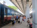 Ngành đường sắt Việt Nam điều chỉnh biểu đồ tàu chạy