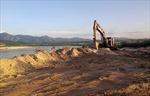 Phạt 70 triệu đồng vì khai thác cát trái phép