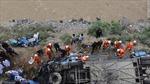 Xe buýt gặp nạn ở Tây Tạng, 44 người thiệt mạng