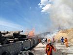 Cháy lớn tại cảng Quy Nhơn thiệt hại hàng chục tỷ đồng