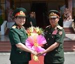 Cán bộ chính trị cấp cao quân đội Việt Nam - Lào hội đàm