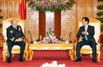 Tiếp tục triển khai 5 nội dung hợp tác quốc phòng Việt Nam- Hoa Kỳ