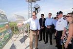 Tướng Mỹ Dempsey thăm nơi xử lý dioxin tại Đà Nẵng