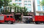 Hỏa hoạn tại tầng hầm tòa nhà Ngân hàng Nhà nước