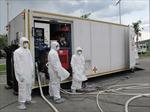 Diễn tập chống dịch Ebola tại sân bay Tân Sơn Nhất