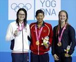Ánh Viên giành HCV đầu tiên tại Olympic trẻ