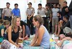Cứu 23 người trong vụ chìm tàu Indonesia