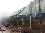 Nhà xưởng cháy rụi, công nhân thấp thỏm mất việc