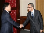 Phó Thủ tướng Phạm Bình Minh tiếp Đại sứ Brunei Darussalam