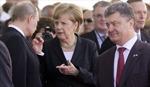 Thủ tướng Đức điện đàm với lãnh đạo Nga, Ukraine