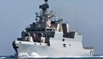 Ấn Độ hạ thủy tàu chiến chống ngầm tàng hình tự chế