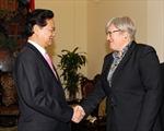 Thủ tướng Nguyễn Tấn Dũng tiếp Phó Chủ tịch Ngân hàng Thế giới
