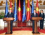 Việt Nam và Liên minh châu Âu ra tuyên bố chung