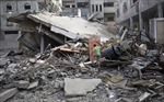 Bom Israel san phẳng 2 cao ốc ở Gaza