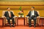 Đặc phái viên Lê Hồng Anh hội kiến Tổng bí thư Trung Quốc Tập Cận Bình