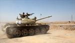 Các tay súng IS rút khỏi một mỏ dầu