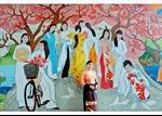 Bức tranh gốm cao nhất Việt Nam