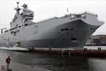 Pháp đặt điều kiện bàn giao tàu chiến cho Nga