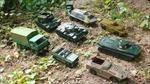 Nga dùng xe tăng đồ chơi chế nhạo NATO