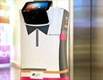 Robot trực tầng khách sạn