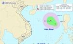 Áp thấp nhiệt đới trên Biển Đông, biển động mạnh