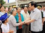 Chủ tịch nước làm việc tại Quảng Trị