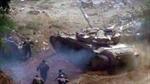Xem đấu súng ác liệt giữa quân đội Syria và phiến quân
